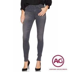 Adriano Goldschmeid Grey Skinny Jeans 26 RN104857